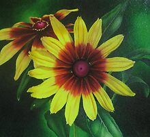 Yellow Rudbeckia by lanadi