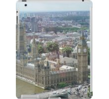 Palace of Westminster London Eye view iPad Case/Skin