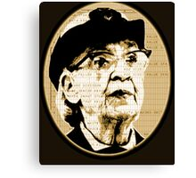 Grace Hopper - COBOL  Canvas Print