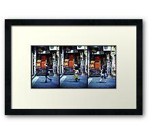 Urban Evolution Framed Print
