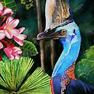 Southern Cassowary  (Off to Mall Gallery London) by Sandra  Sengstock-Miller