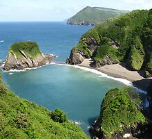 'Nearly Paradise', Broad Strand, Berrynarbor, Devon by wiggyofipswich