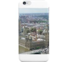 Palace of Westminster London Eye view iPhone Case/Skin