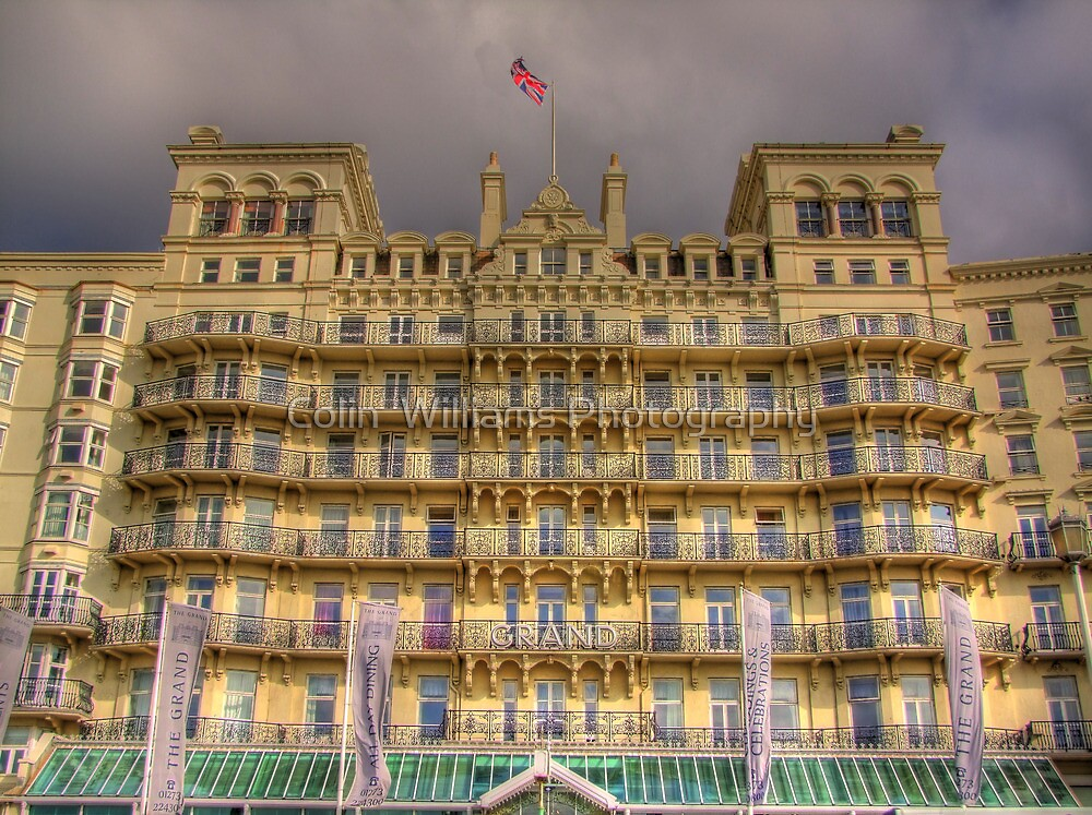 The Grand Hotel - Brighton by Colin  Williams Photography