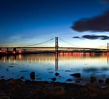 Forth Road bridge by Billy Stark