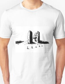 Fedderate Castle Unisex T-Shirt