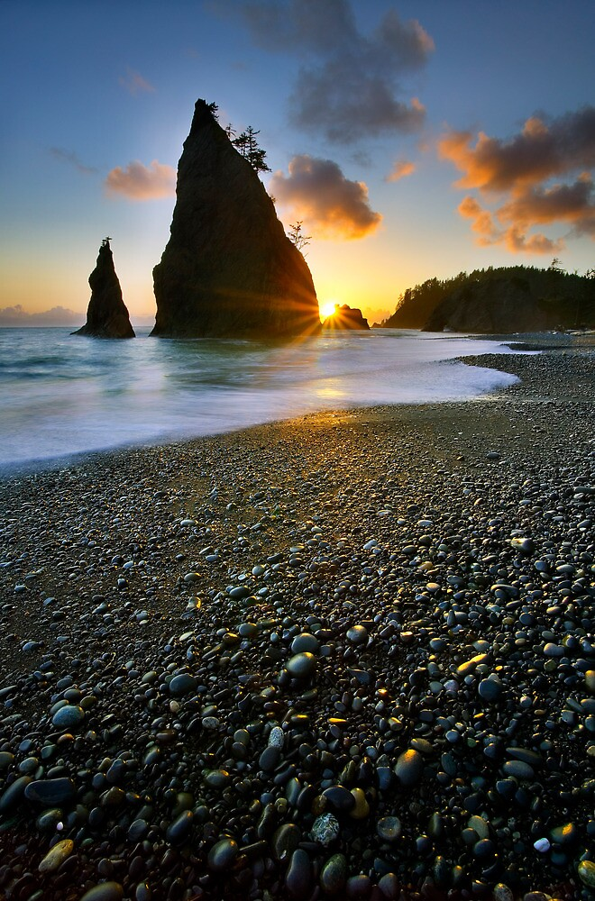 Ruby beach sunset by Tomas Kaspar