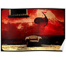 wall surfing Poster