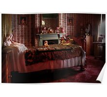 The Bedroom ~ Monte Cristo Poster