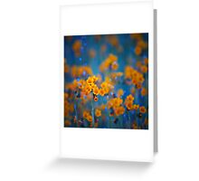 Flower dreams Greeting Card