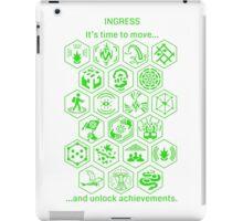 IngressGreenAchievements iPad Case/Skin