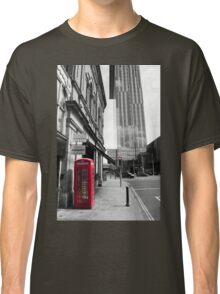 Red Telephone Box and Beetham Tower Classic T-Shirt