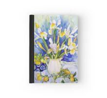 Dutch Iris with Cumquats Hardcover Journal