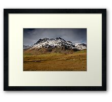 The Langdale Pikes Framed Print