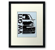 vw gti Framed Print