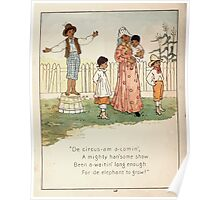 The Glad Year Round for Boys and Girls by Almira George Plympton and Kate Greenaway 1882 0054 Circus Poster