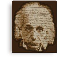 Einstein - General Theory of Relativity Canvas Print