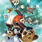 Lum - Great Pandamonium - Fantasy Strike by Sirlin