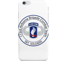 173rd Airborne Sky Soldiers iPhone Case/Skin