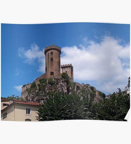 Chateau Foix Poster