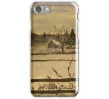 A Walk In The Snow iPhone Case/Skin