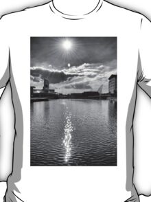 Sun Flare over The Quays T-Shirt