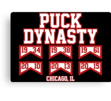 Puck Dynasty Chicago Canvas Print