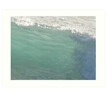 Riviera Visual - Sea Mist Opaque Art Print