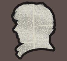 Sherlock Holmes - Benedict Cumberbatch silhouette One Piece - Short Sleeve