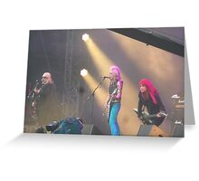 L7 at Download 2015 Greeting Card