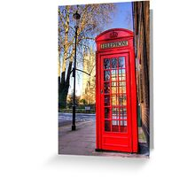 Communicating with Our Lord - Chelsea - London Greeting Card