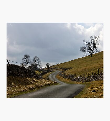 Hill Road Photographic Print