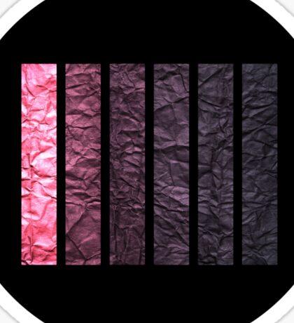 Tints of Purple Sticker