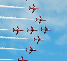 2. Red Arrows at Llandudno by Stuart Giblin