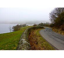 Mist around the Reservior Photographic Print