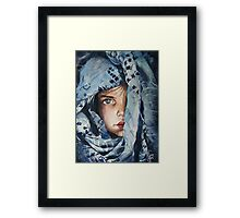 no words are enough.. Framed Print