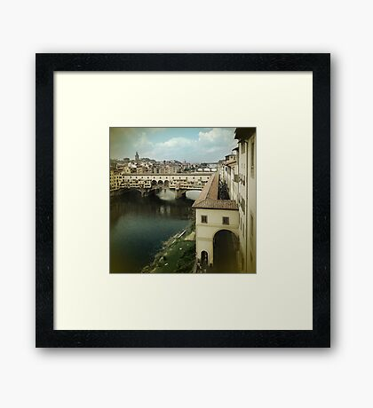 Don't Fade Away Framed Print