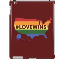 #LoveWins ♥ (NO PROFIT TAKEN!) iPad Case/Skin