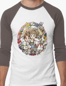 Harvest Moon Men's Baseball ¾ T-Shirt