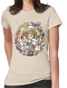 Harvest Moon Womens Fitted T-Shirt