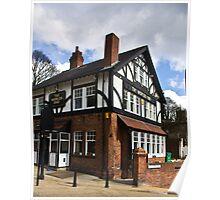The Worlds End Pub - Knaresborough. Poster