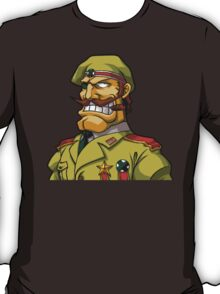 Donald Morden Metal slug T-Shirt