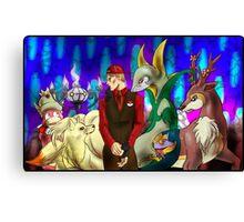 Hannibal - Lecter's pokemon squad Canvas Print