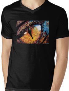 Smaug's Eye Mens V-Neck T-Shirt