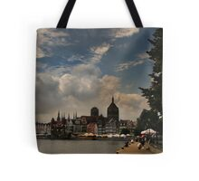 View of Gdansk Tote Bag