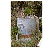 Vintage Garden Bin Poster