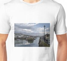 Evening at Custom House Quay, Falmouth Unisex T-Shirt