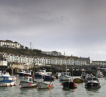 Porthleven Harbour by Bob Culshaw