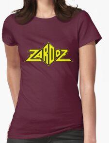Zardoz Yellow Black Womens Fitted T-Shirt