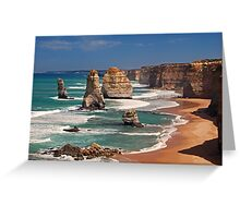 12 Apostles, Australia Greeting Card